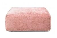 Hocker Harry Samtstoff pink klein