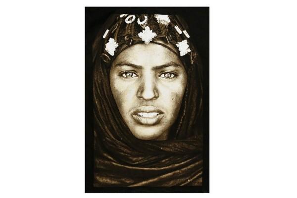 Plaid Tuareg Frau 140_200