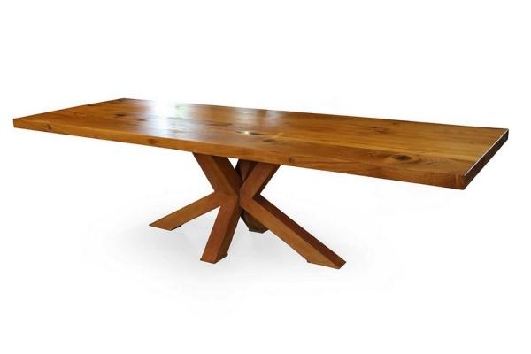 Esstisch Massivholz Bohlentisch Eiche 300_108_79,5 cm