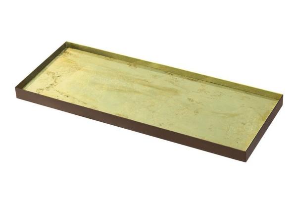 Notre Monde Tablett Gold 46 cm