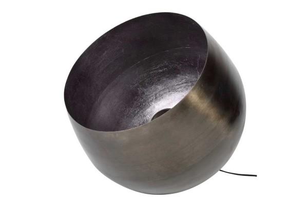 Bodenlampe Metall rund D 50 cm