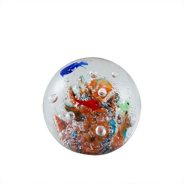 Deko Glas Kugel Aquarium