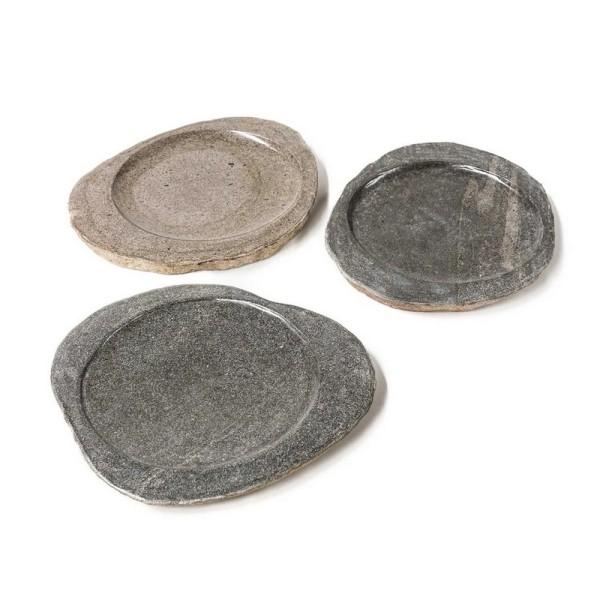 Platte river stone Optik D 30 cm