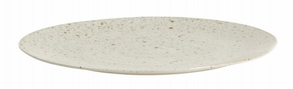 Grainy Teller Keramik sand D 28,7 cm
