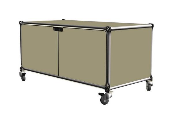 Sideboard System 180 sandgrau MDF 94,5_46,5_46 cm