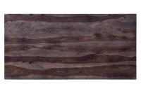Tischplatte Palisanderholz antikbraun 160