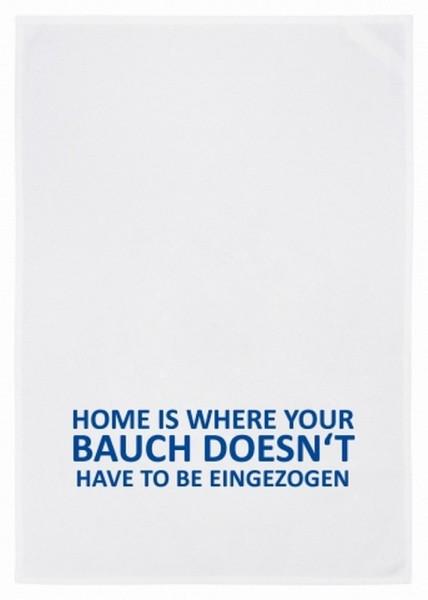 Geschirrtuch Home is where____
