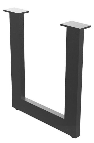 Tischgestell Hochkant schwarz
