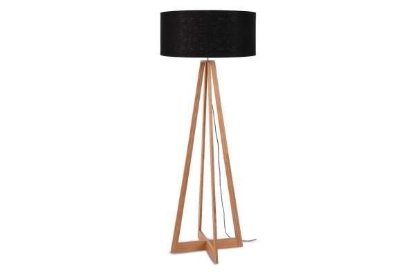 Stehlampe Everest Bambus natur schwarz H 158