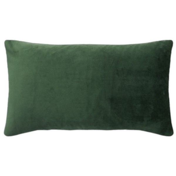 Elegance Kissenhülle 25_50cm dunkelgrün