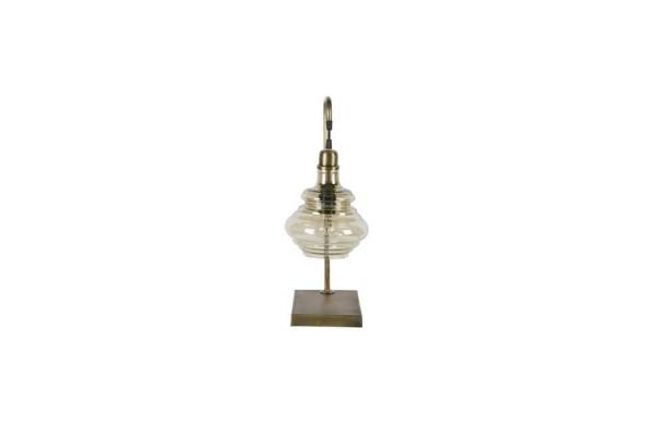 Tischlampe Obvious Antik messing h 49 cm