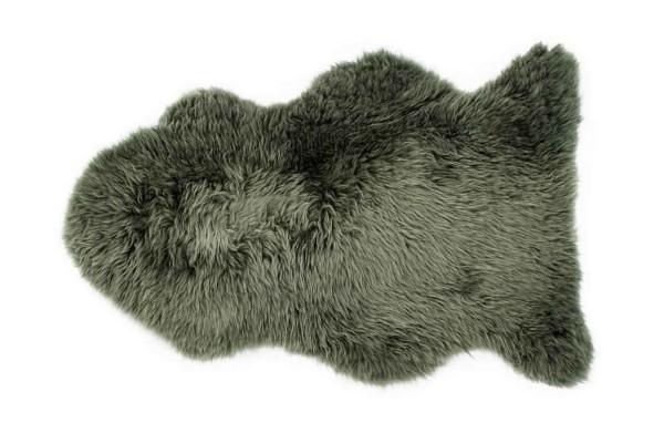 Schaffell Premium moosgrün 95 cm