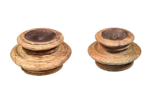 Kerzenhalter Vintage rund