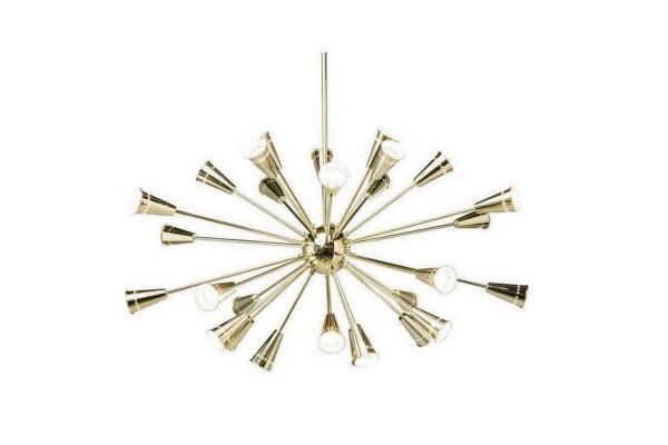 Hängelampe Atmosphere Gold b 125 cm