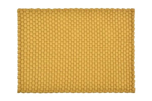 Fußmatte _Uni_ gelb 52_72 cm