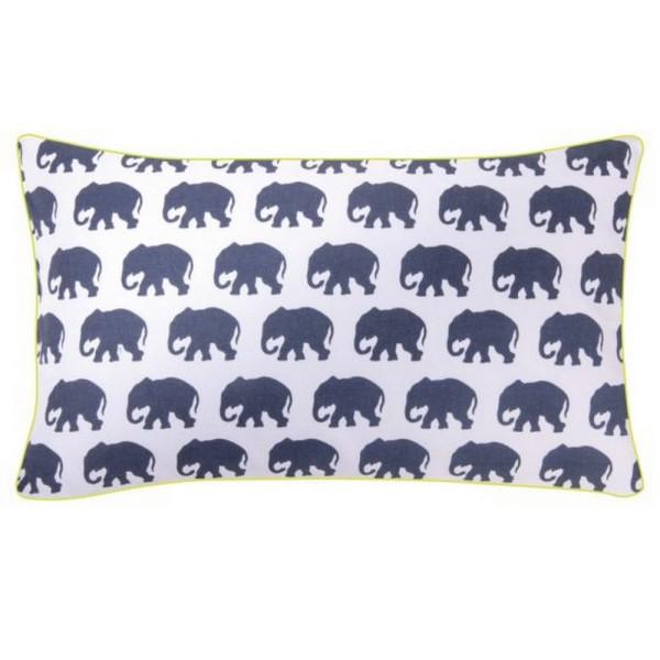 ELEPHANT Kissenhülle 30_50cm marineblau