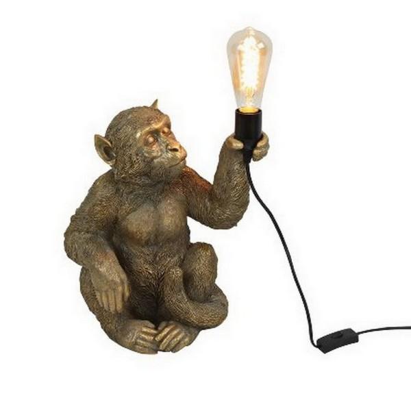 Tischlampe Monkey sitzend