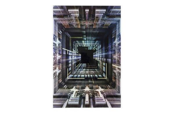 Glasbild Science Fiction 120_180 cm