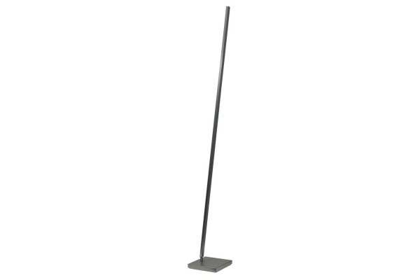 Stehlampe nickel matt H 165cm