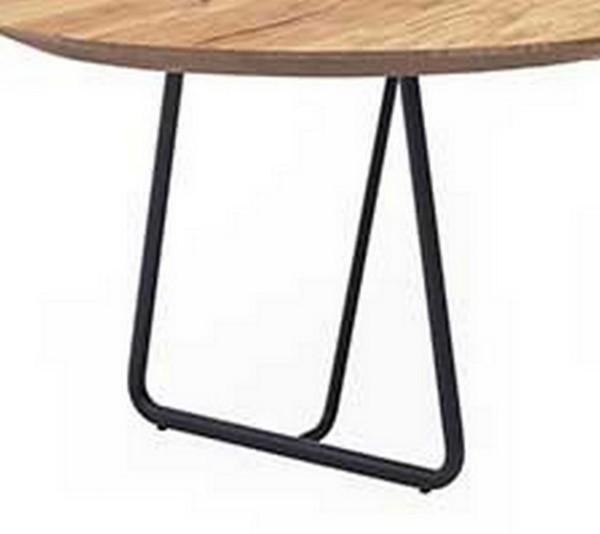 Tischsystem Tischgestell Kufe dick schwarz