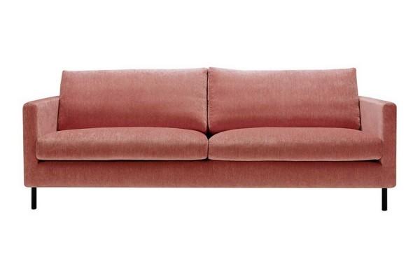 Sofa 3 Sitzer Impala Stoff Elyot rot