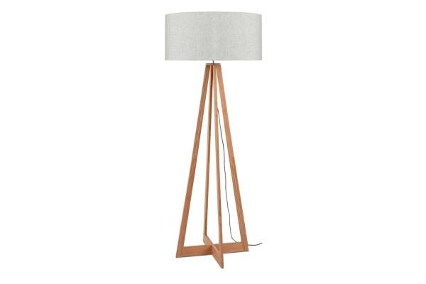 Stehlampe Everest Bambus natur hell H 158 cm