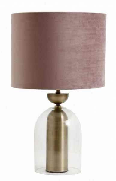 Tischlampe rosé Ø 33 cm h 65cm