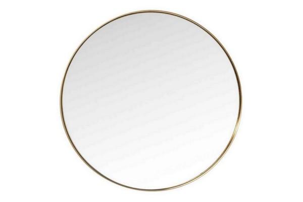 Wandspiegel Curve gold Ø 100