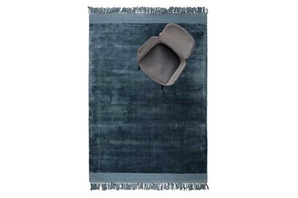 Teppich Blink 170X240 Blau
