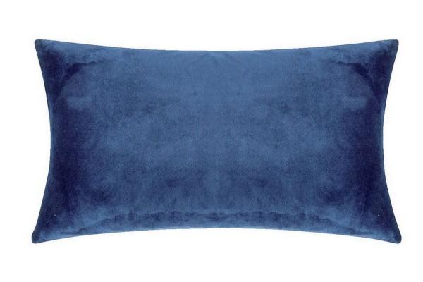 Smooth Kissenhülle 25_50 cm blau