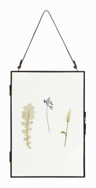 Bilderrahmen mit getrockneten Blüten 30_20 cm