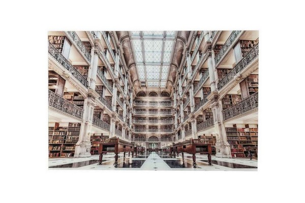 Bild Library 100_150 cm