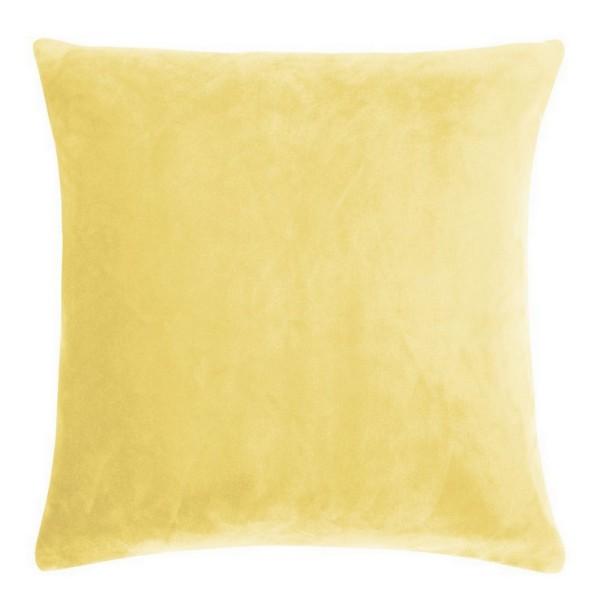 Smooth Kissenhülle 40_40 cm gelb