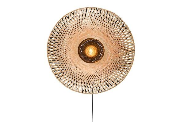 Wandlampe Kalimantan Bambusgeflecht D 60 cm