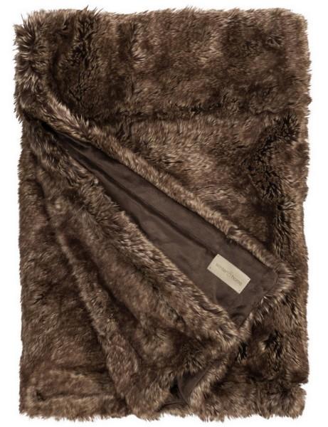 Fellplaid Brown Bear 140_200cm