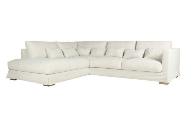 Sofakombination Heaven Stoff beige B 313 cm