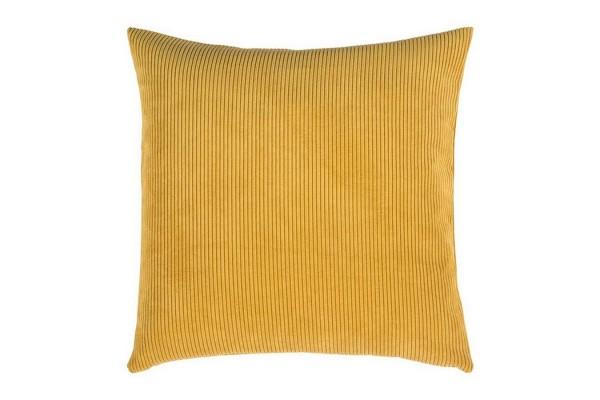 Casual Kissenhülle 60_60 cm gelb