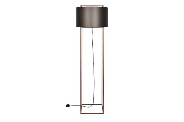 Stehleuchte Soave bronze_grau H 165 cm