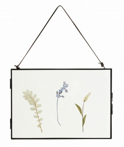 Bilderrahmen mit getrockneten Blüten 20_30 cm