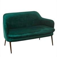 Sofa Chic Samt grün