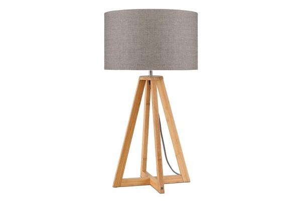 Tischlampe Everest Bambus natur beige H 59
