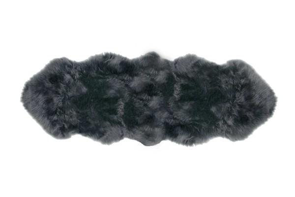 Doppelfell grau B 180-190 cm
