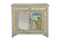 Sideboard Vintage mit Malerei
