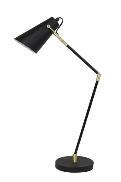Tischleuchte Borre schwarz h 89,5 cm
