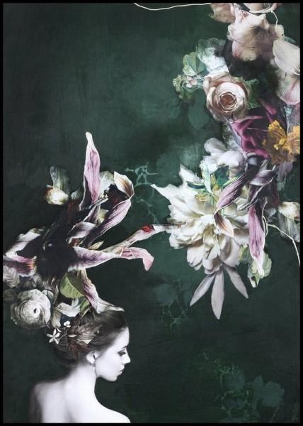 Alu Dibond Bild Haute Couture 6 100_150 cm