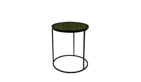 Beistelltisch _Glaze_ grün Ø 40 h 45 cm