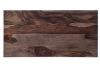Tischplatte Palisanderholz antikbraun 120