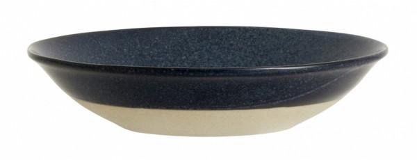 Grainy Suppenteller blau D 22,5 cm