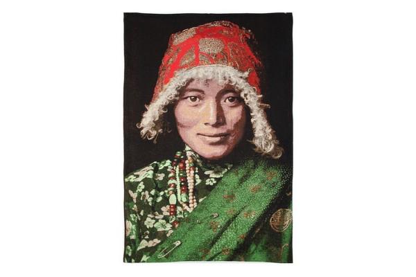 Plaid Tibetanischer Mann