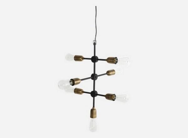 Molekular Hängeleuchte h 58 cm